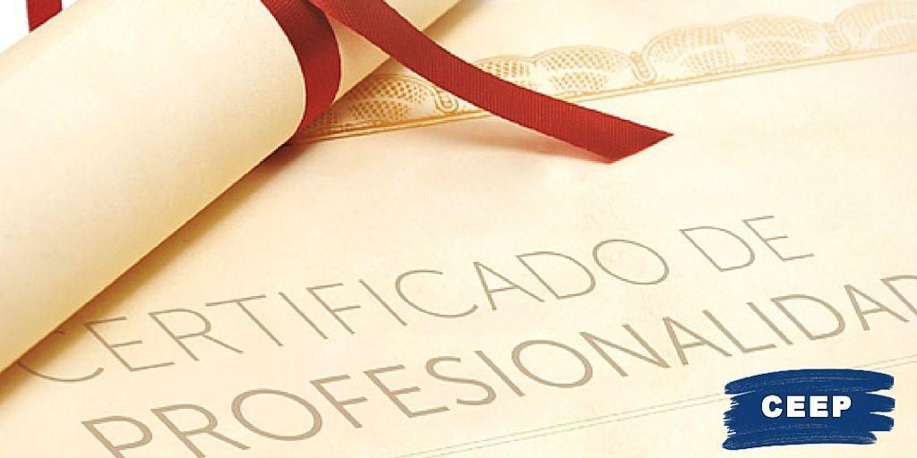 Los nuevos certificados profesionales- sellos de calidad profesional grupo ceep