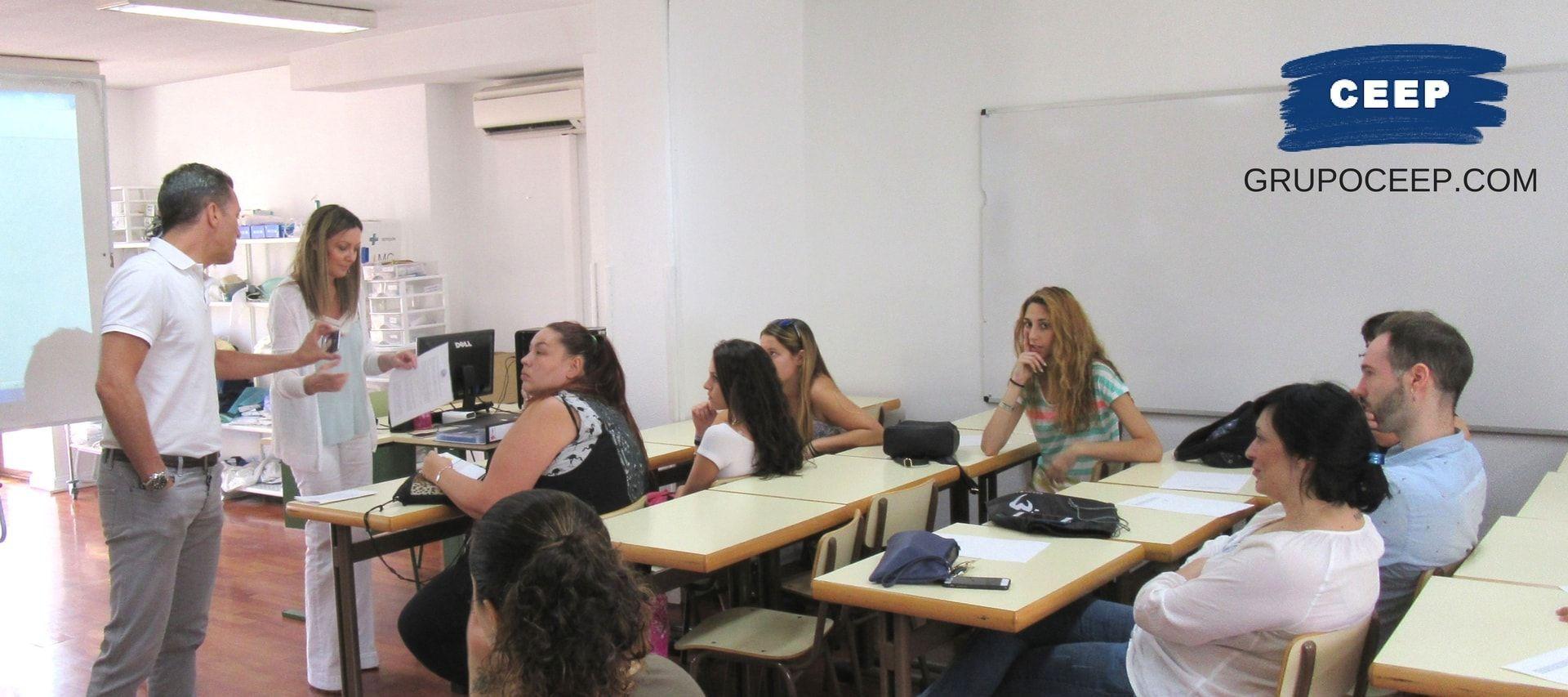 Presentación de alumnos para Módulo de Formación en Centros de TCAE