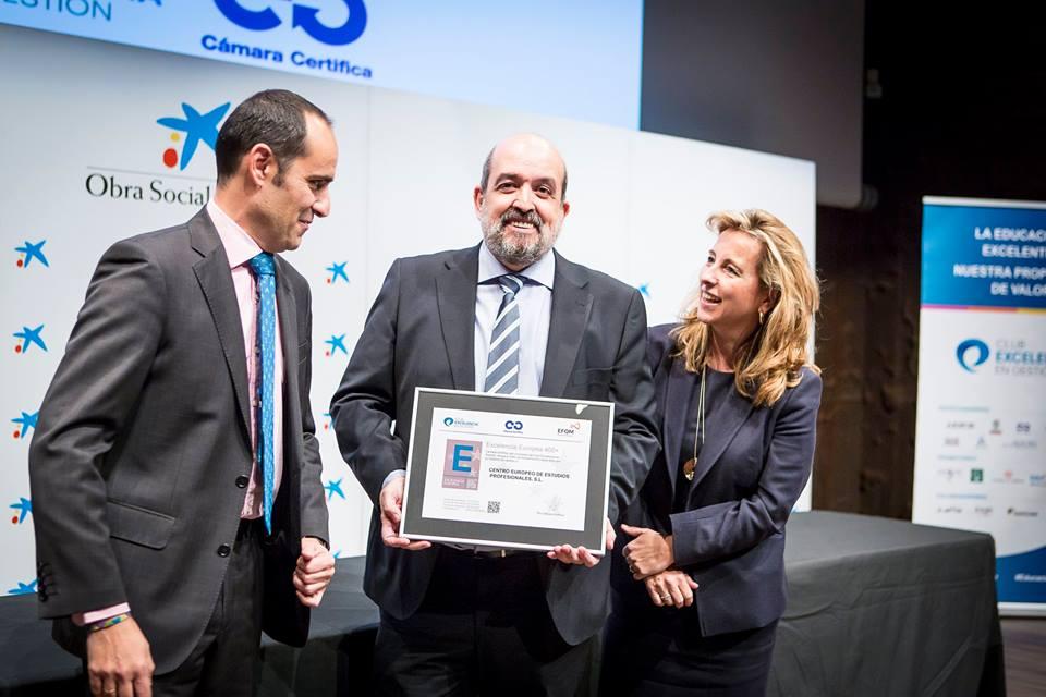 CEEP recibe el sello de excelencia EFQM